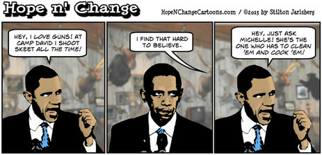 Hope N Change Cartoons