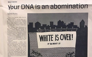 Your DNA is an abomination