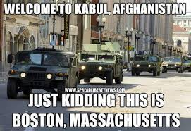 Boston SWAT team