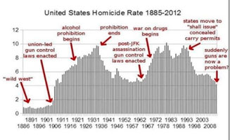 Guns vs homicide