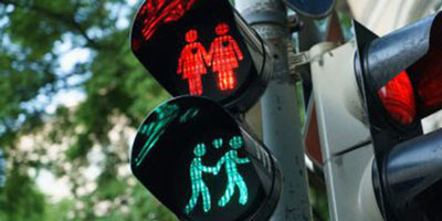 Homosexual traffic lights
