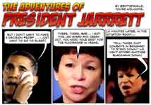 President Jarrett cartoon