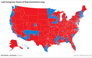 National Journal map