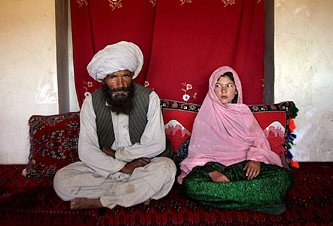 Mohammed and his new 11-year-old wife