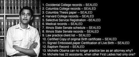 Sealed records