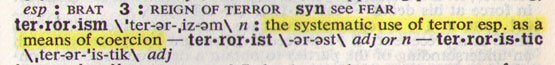 Webster's New Collegiate Dictionary, 1970.