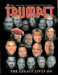 Obama, Wright and Farrakhan on the cover of Trumpet