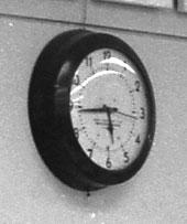 Western Union clock