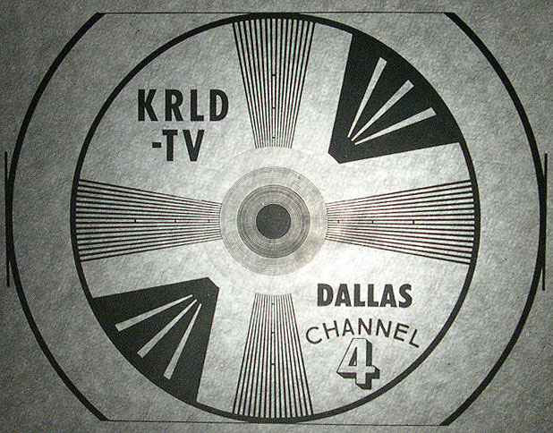 Richard Bauer's Old Pictures From KRLDTV Simple Old Tv Test Pattern