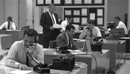 Others in the KRLD-TV newsroom