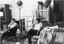 Studio crew