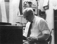KRLD Radio control room