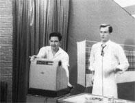 KRLD-TV studio