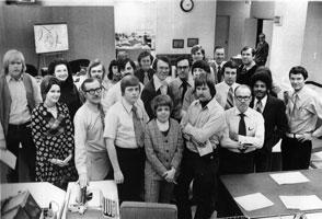 1973 newsroom