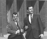 Bill Mercer and Jack Harrison