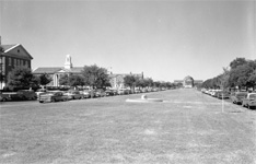 The SMU campus, a long time ago.